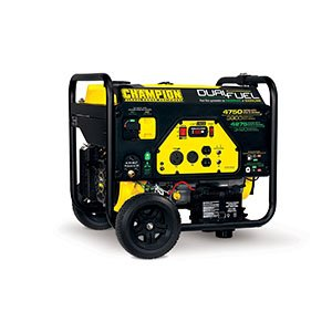 Best Portable Generators Champion 3800-Watt Dual Fuel RV Ready Portable Generator