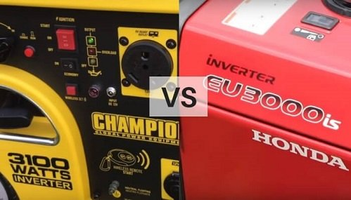 champion generator vs honda